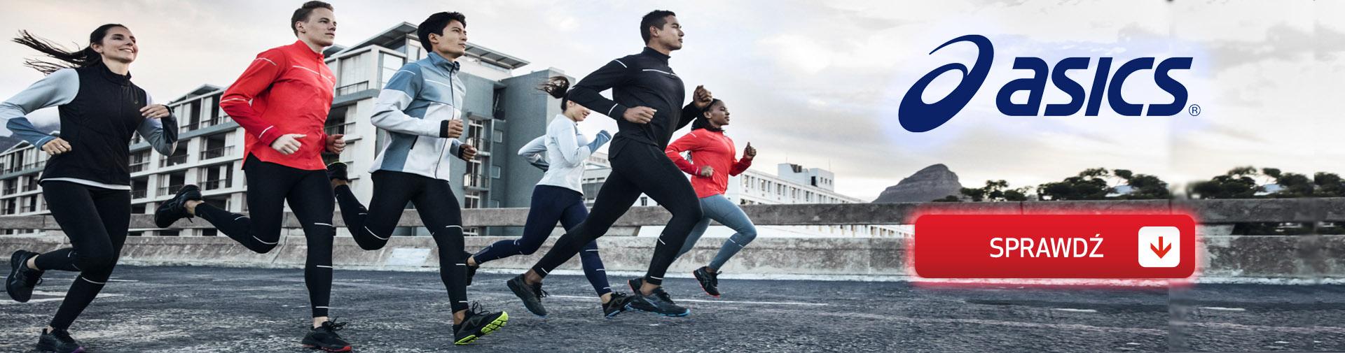 Odzież do biegania, buty do biegania, akcesoria do biegania