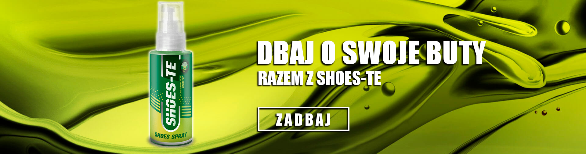 Spray do dezynfekcji obuwia Shoes-te